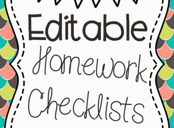 Homework Checklists