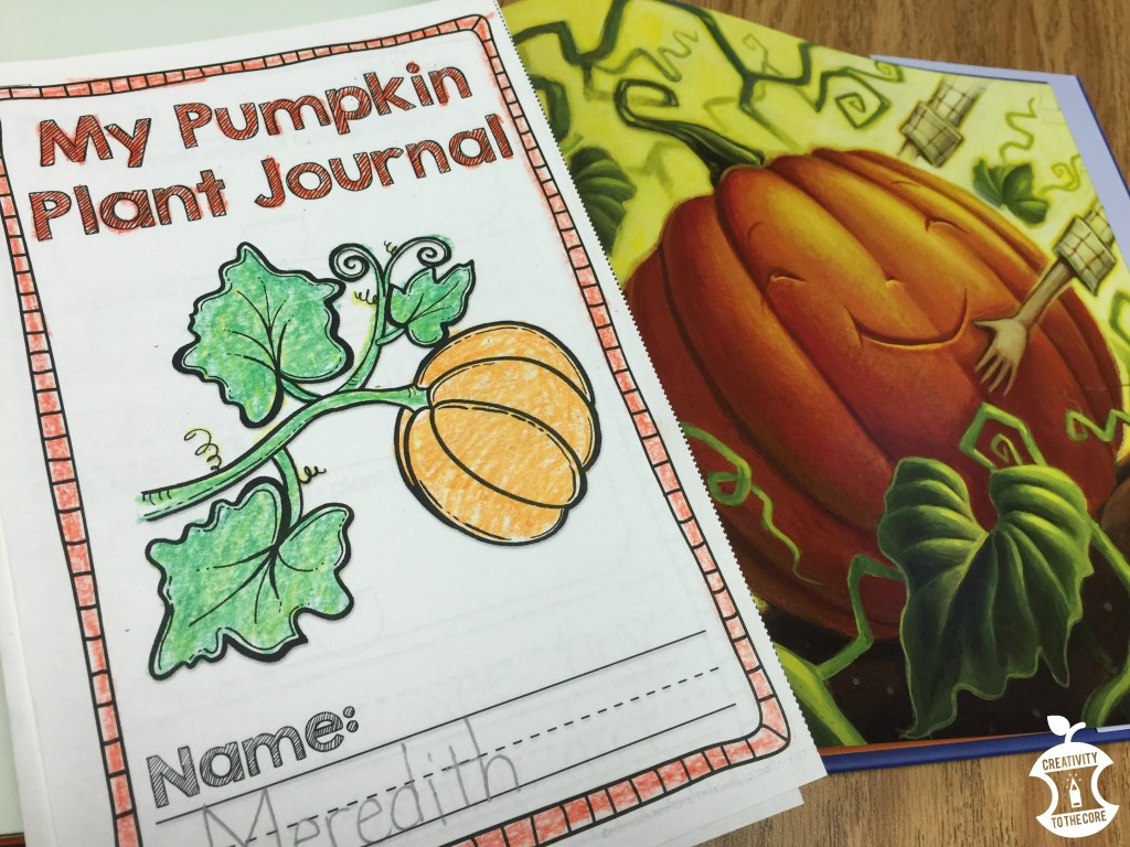 Little Boo Lesson Plan Ideas for a pumpkin life cycles unit.