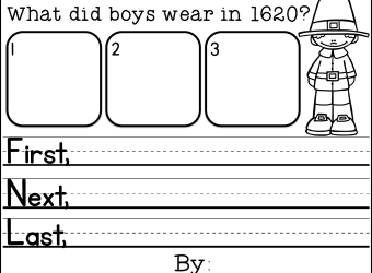 Samuel Eaton's Day: Mentor Test Lesson Plan Ideas