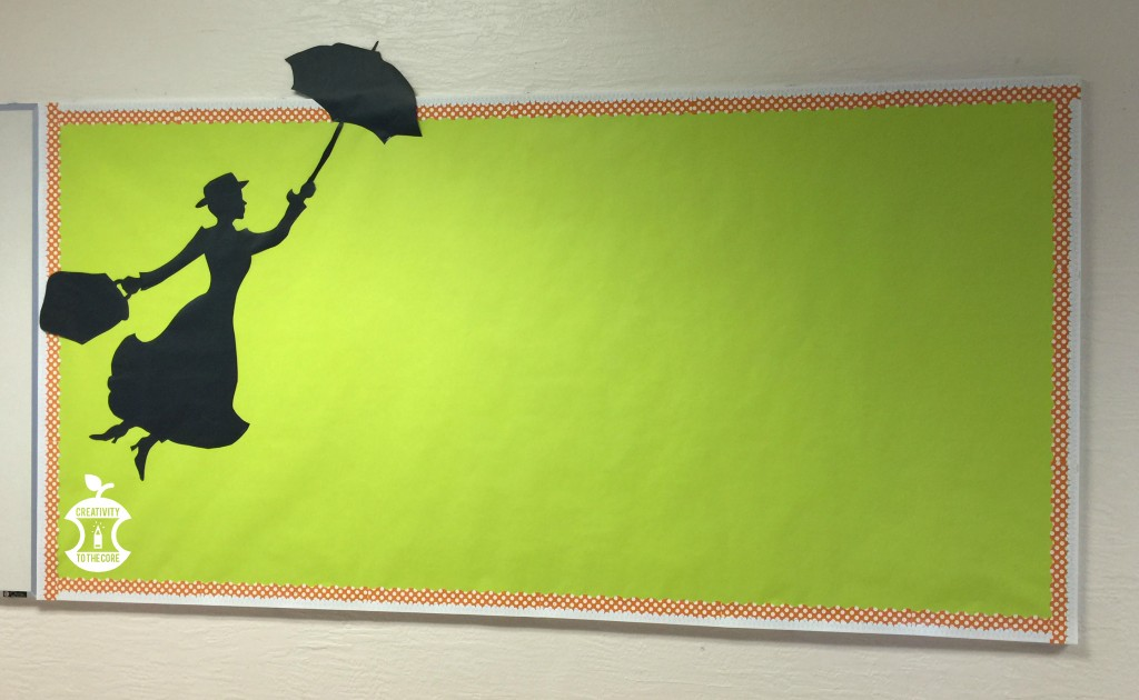 How to make a Mary Poppins bulletin board