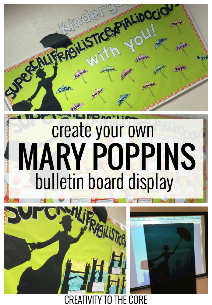 How-to Create a Mary Poppins Bulletin Board